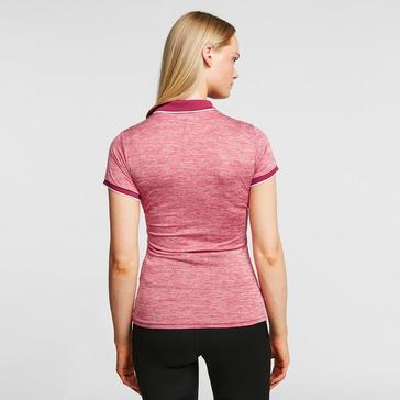 Pink Regatta Women's Remex II Polo Shirt