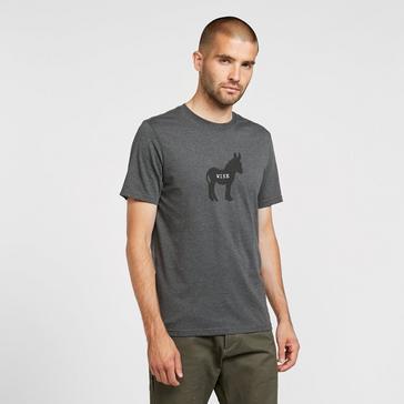 Grey Prana Men's Wise Ass Journeyman T-Shirt