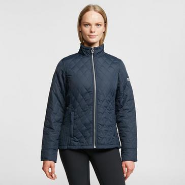 Navy Regatta Women's Charna Insulated Jacket