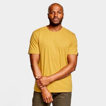 Yellow Prana Men's Crew T-Shirt