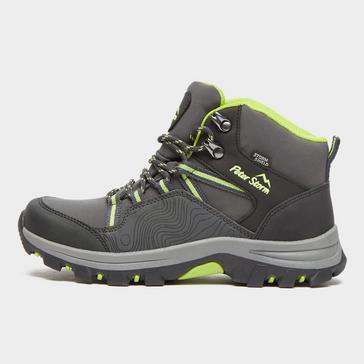 Grey Peter Storm Kids' Latitude Waterproof Walking Boots
