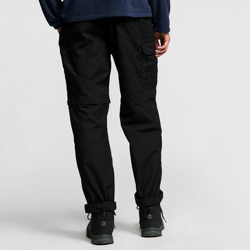 Black Craghoppers Men's Kiwi Convertible Trousers