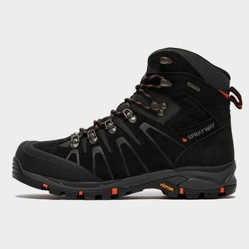 Black Sprayway Men's Arran HydroDRY® Walking Boot