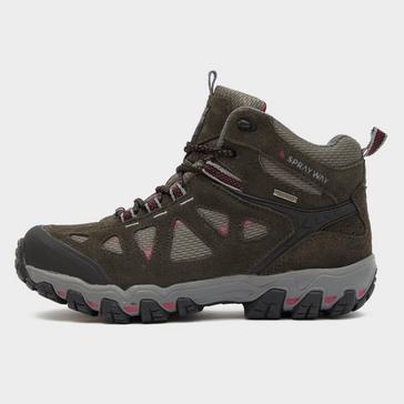 Grey Sprayway Women's Iona HydroDRY Walking Boot
