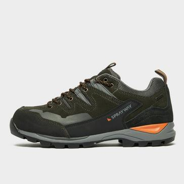 Grey Sprayway Men's Oxna HydroDRY Walking Shoe