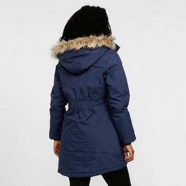 Navy Peter Storm Women's Paloma Parka Jacket