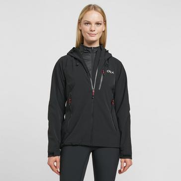 Black OEX Women's Fortitude Waterproof Jacket