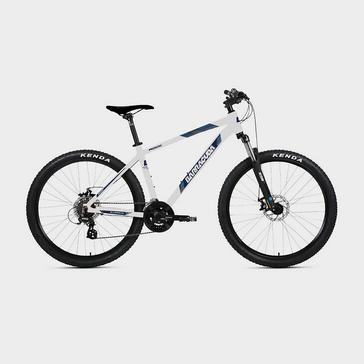White Barracuda Rock 21-Speed Mountain Bike