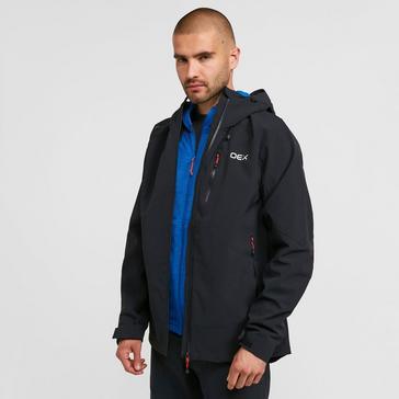 Black OEX Men's Aonach Waterproof Jacket