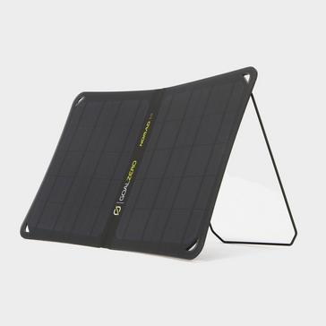 Black Goal Zero Nomad 10 Solar Panel