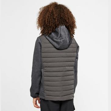 Grey Berghaus Kids' Hybrid Jacket