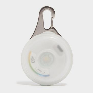 Multi-coloured Niteize SpotLit XL Disc-O-Select Carabiner Light
