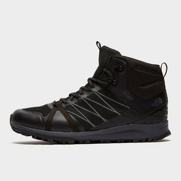 Black The North Face Men's Litewave Fastpack II DryVent™ Mid Hiking Boots