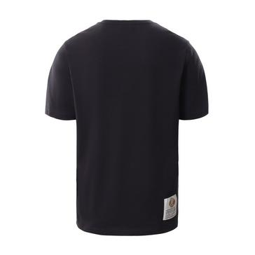 Black The North Face Men's Recycled Scrap T-Shirt