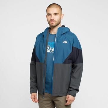 Blue The North Face Men's Lightning Waterproof Jacket