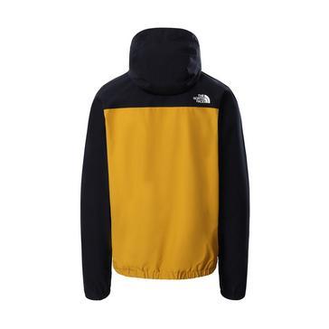 Yellow The North Face Men's Fanorak Waterproof Jacket