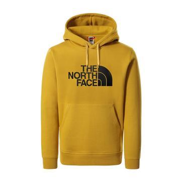 Yellow The North Face Men's Drew Peak Hoodie