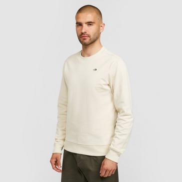 White The North Face Men's Recycled Scrap Sweater