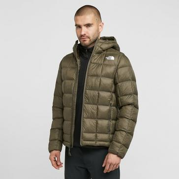 KHAKI The North Face Men's Thermoball Super Hooded Jacket