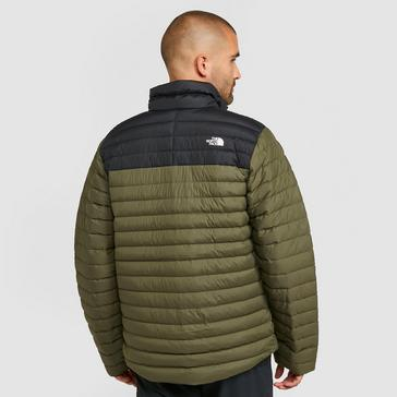 Khaki The North Face Men's Stretch Down Jacket