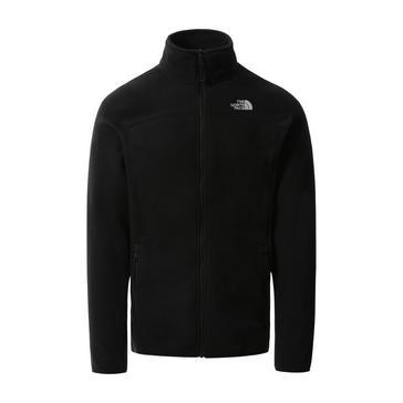 Black The North Face Men's Glacier Full Zip Polartec® Fleece Jacket