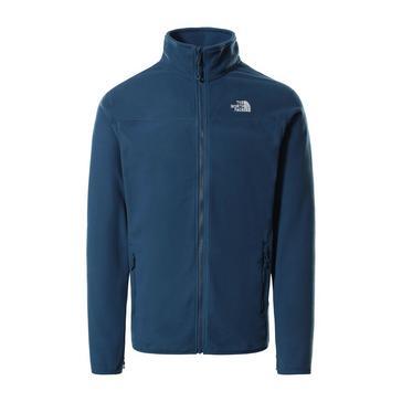 Blue The North Face Men's Glacier Full Zip Polartec® Fleece Jacket