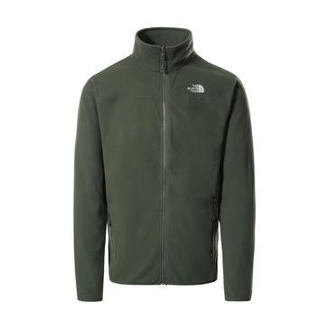 Khaki The North Face Men's Glacier Full Zip Polartec® Fleece Jacket