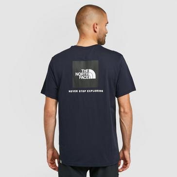 Navy The North Face Red Box T-Shirt