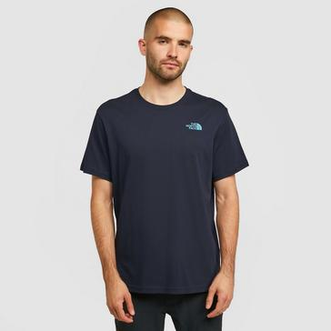 Navy The North Face Men's Biner 4 T-Shirt