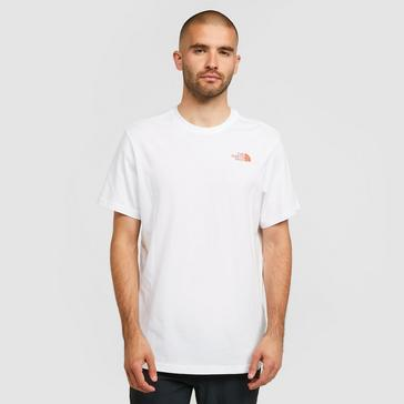 White The North Face Men's Biner 4 T-Shirt