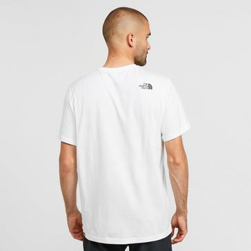 White The North Face Men's Biner 1 T-Shirt