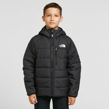 Black The North Face Kids' Reversible Perrito Jacket