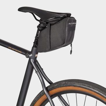 Black Altura Night Vision Road Saddle Bag XL