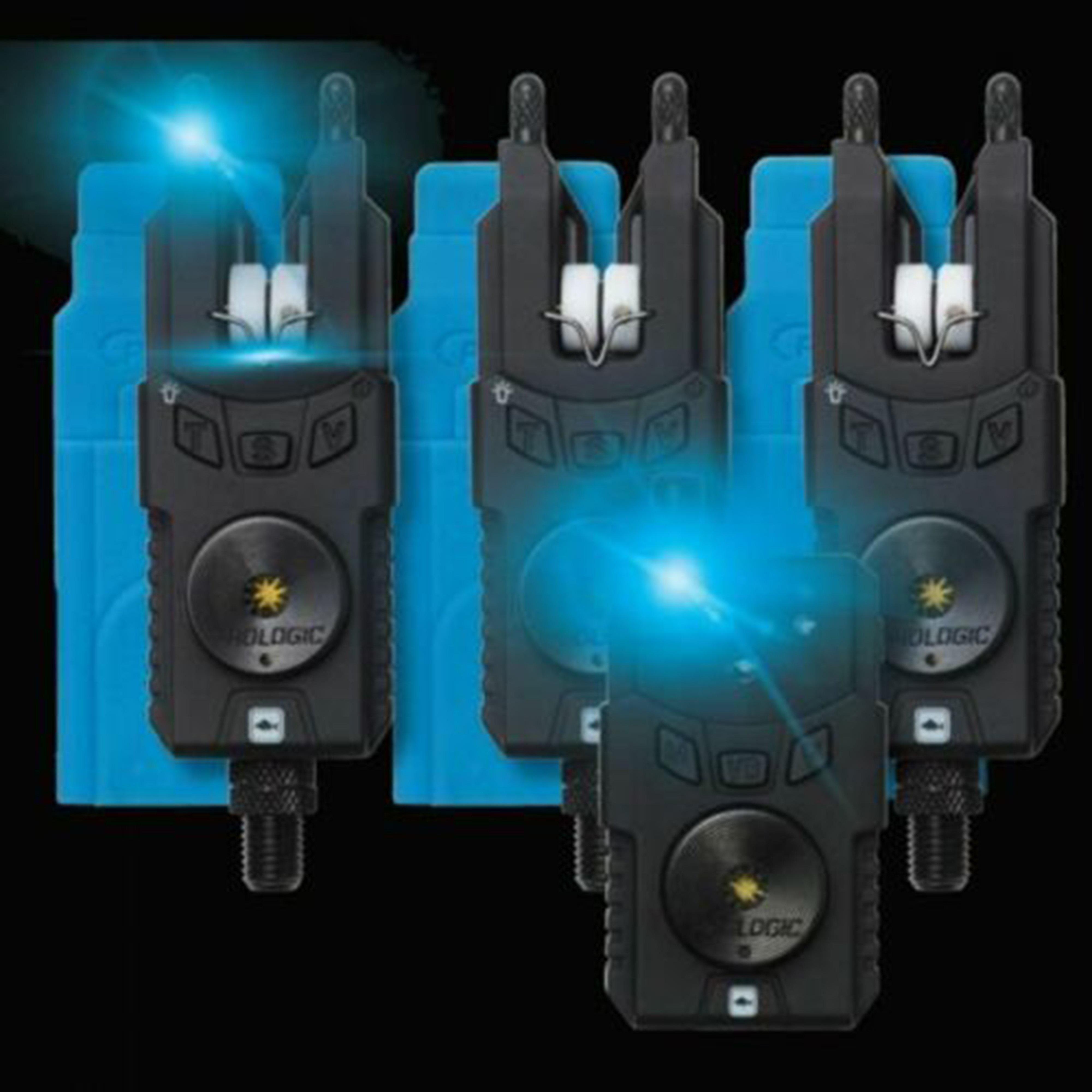 Prologic Smx Alarms 3 Plus 1 - Black/Blue, Black/Blue