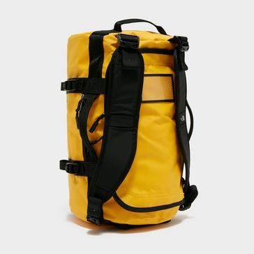Yellow The North Face Basecamp Duffel Bag (Extra Small)