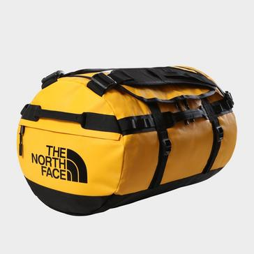 Gold The North Face Base Camp Duffel Bag (Small)