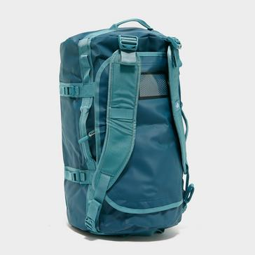 Blue The North Face Base Camp Duffel Bag (Small)