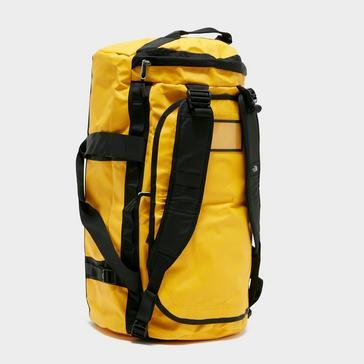 Yellow The North Face Basecamp Duffel Bag (Medium)