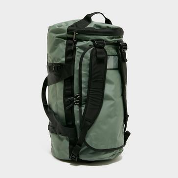 Green The North Face Base Camp Duffel Bag (Medium)