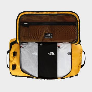 Gold The North Face Base Camp Duffel Bag (XL)