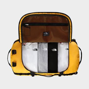 Gold The North Face Base Camp Duffel Bag (XXL)