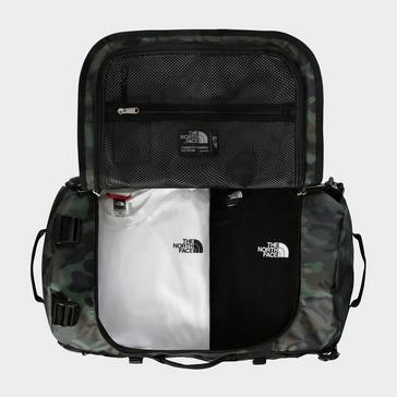 Green The North Face Base Camp Duffel Bag (Small)