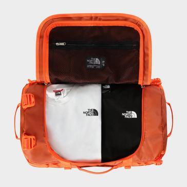 Orange The North Face Basecamp Duffel Bag (Small)