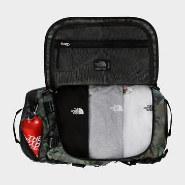 Camouflage The North Face Base Camp Duffel Bag (Medium)