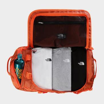 ORANGE The North Face Basecamp 95 Litre Duffel Bag (Large)