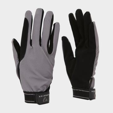 Grey Aubrion Mesh Riding Gloves