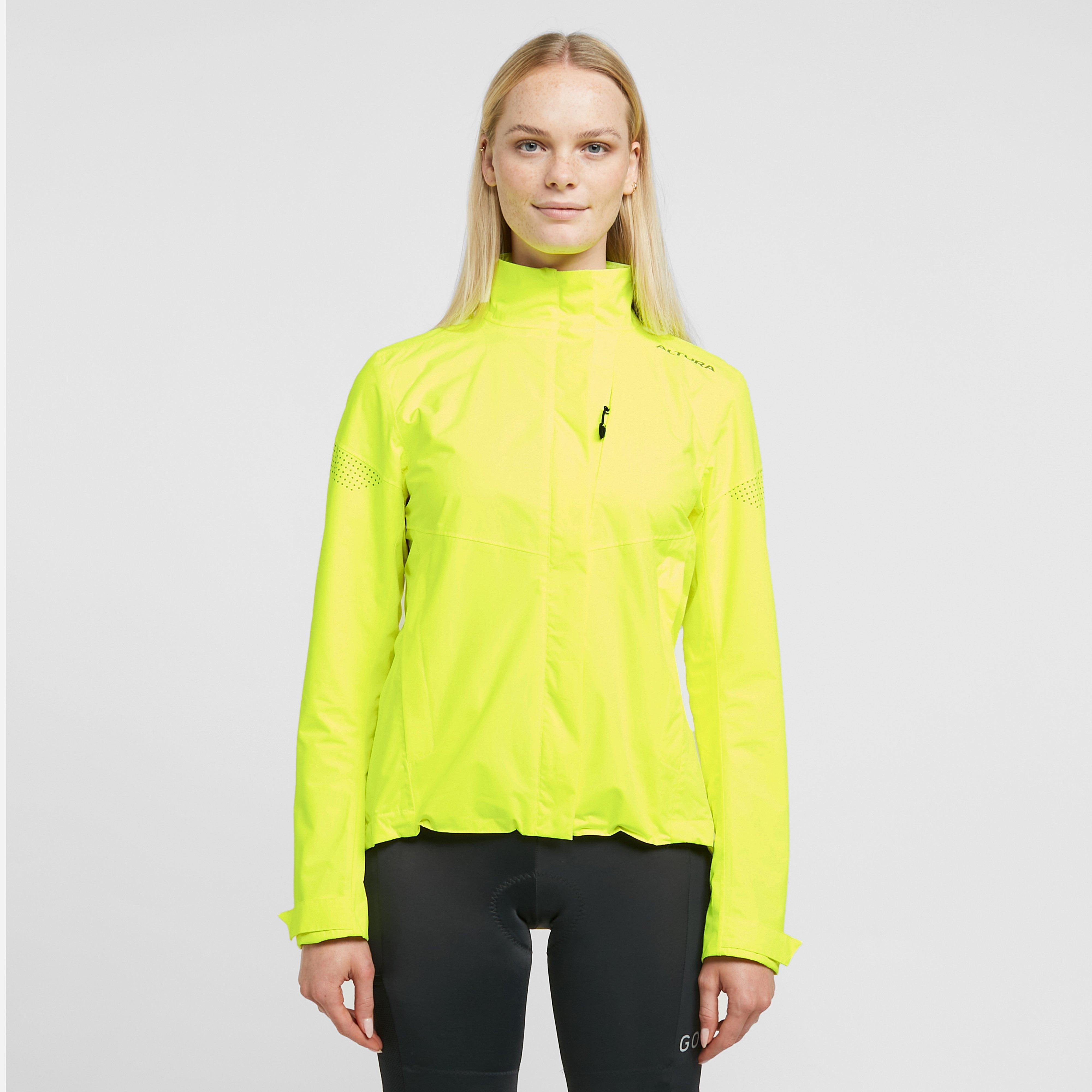 Image of Altura Women's Nevis Nightvision Waterproof Jacket - Yellow/Yel, Yellow/YEL