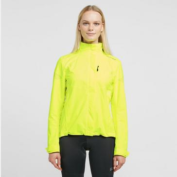 Yellow Altura Women's Nevis Nightvision Waterproof Jacket
