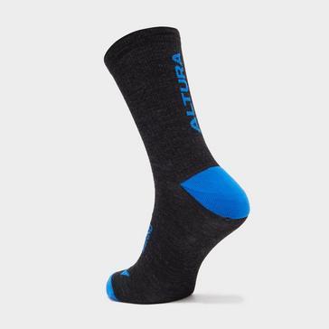 Black Altura Merino Sock