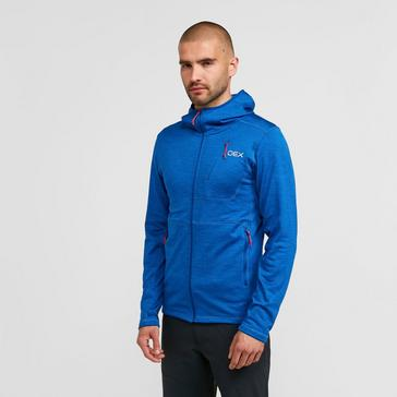 Blue OEX Men's Basalt Alpine Full-Zip Fleece